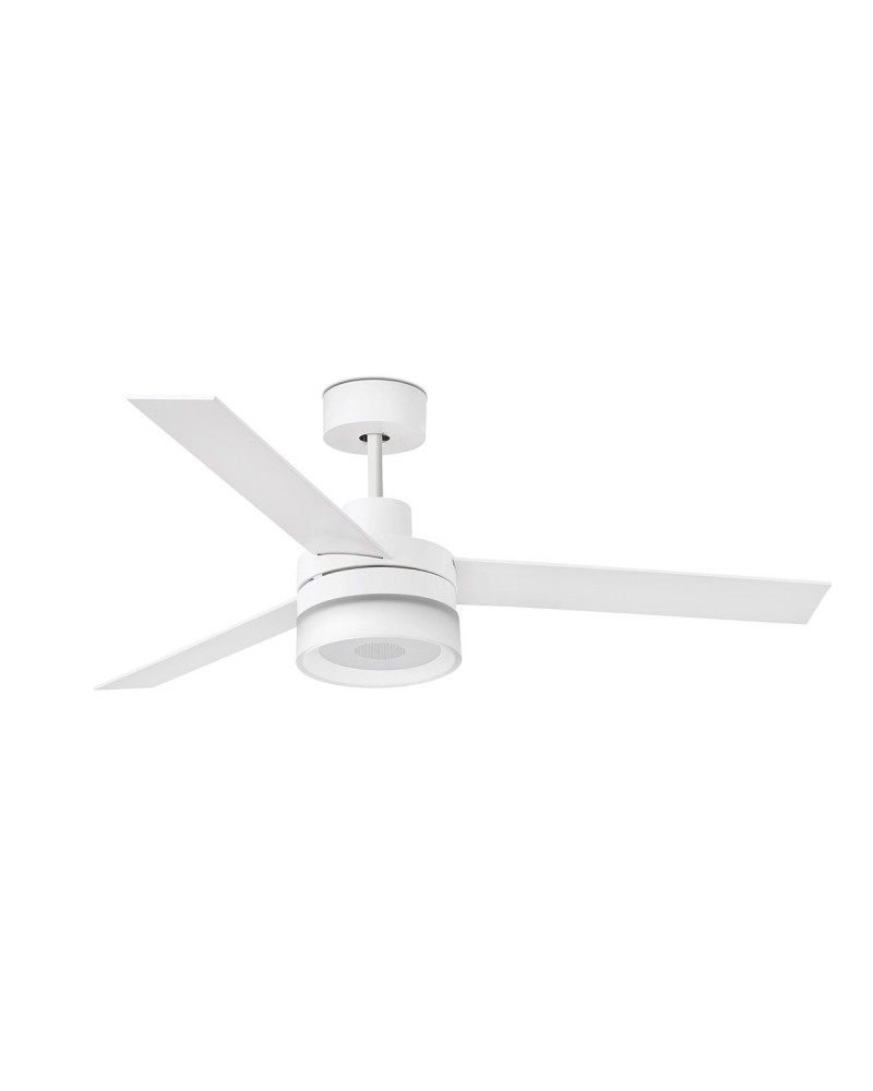 ICE LED SPEAKER White ceiling fan with speaker - 33460UL