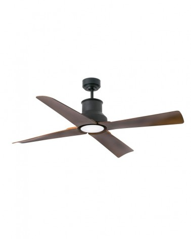WINCHE Brown ceiling fan with DC motor - 33481UL