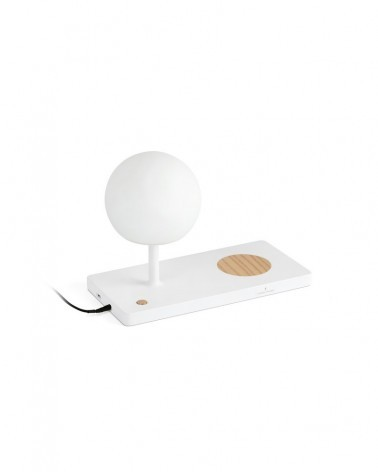 NIKO LED White table lamp - 01007