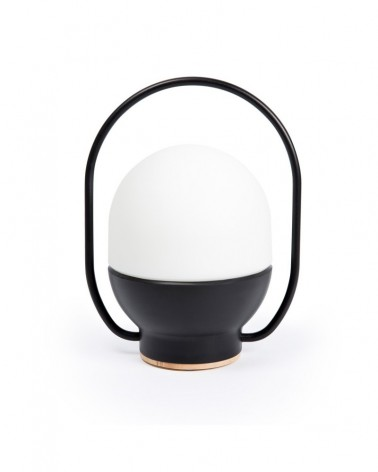TAKE AWAY LED Black portable lamp - 01016